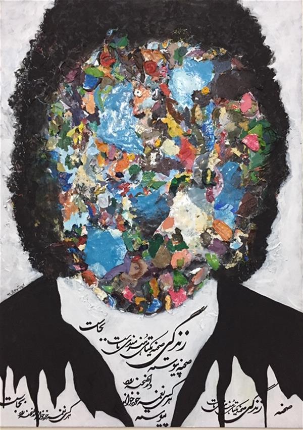 هنر نقاشی و گرافیک محفل نقاشی و گرافیک Firoozeh goharian میکس مدیا،۱۳۹۹ نام اثر:سهراب
