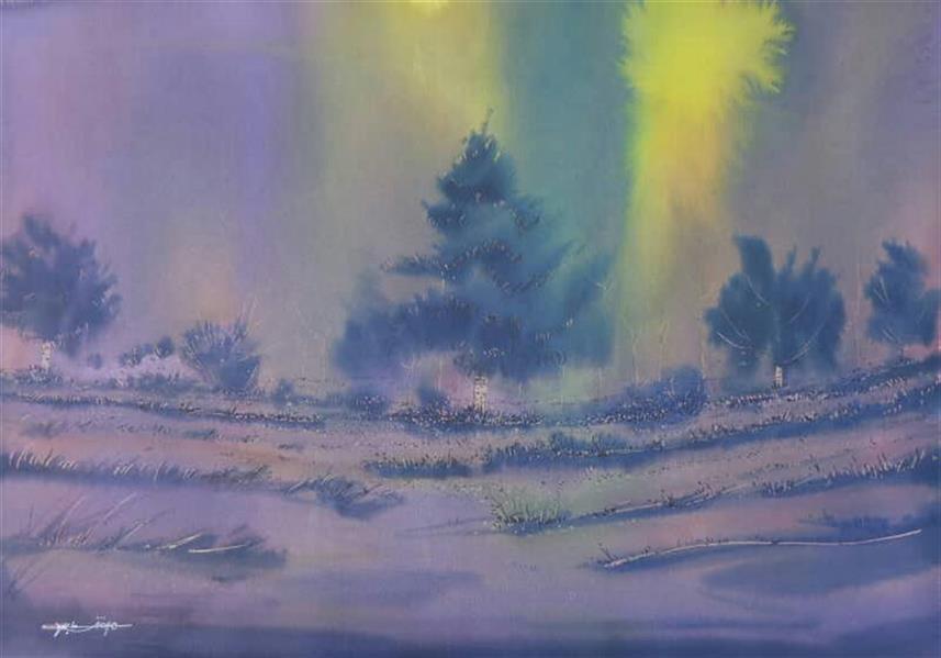 هنر نقاشی و گرافیک محفل نقاشی و گرافیک مرتضی عابدی #ابعاد70×50 #متریال مرکب