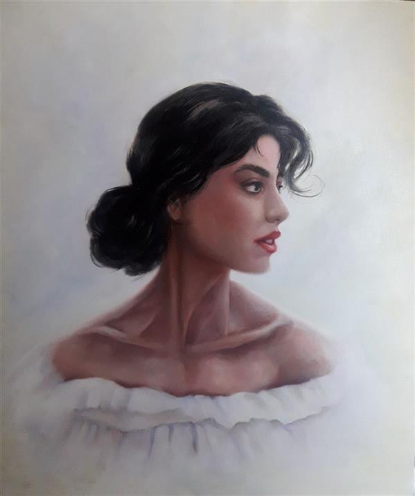 هنر نقاشی و گرافیک محفل نقاشی و گرافیک سارا جعفری نقاشی رنگ روغن سایز ۶۰×۴۰