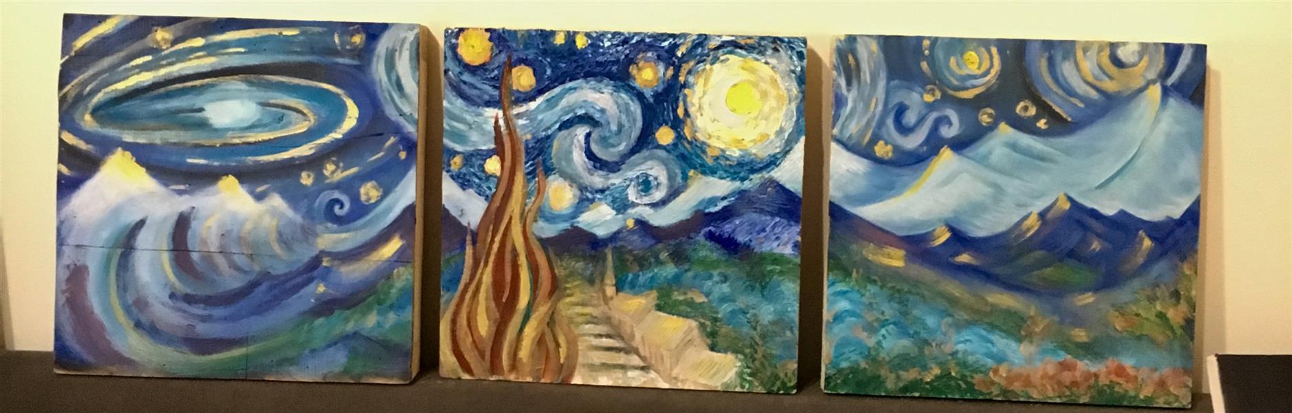هنر نقاشی و گرافیک محفل نقاشی و گرافیک Sara Azimi  # Van Gogh # paint # painting #art