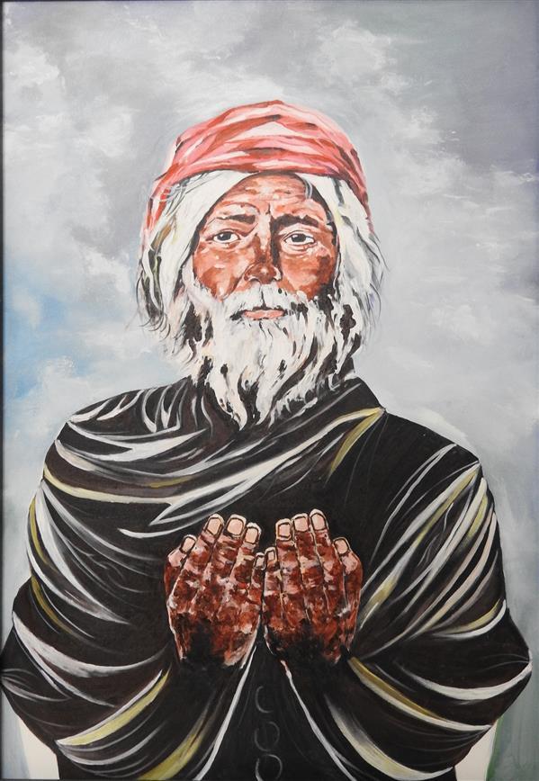 هنر نقاشی و گرافیک محفل نقاشی و گرافیک معین خزاعی جنس: بوم سال: 99 هنرمند: #ذبیح_الله_اوحدی