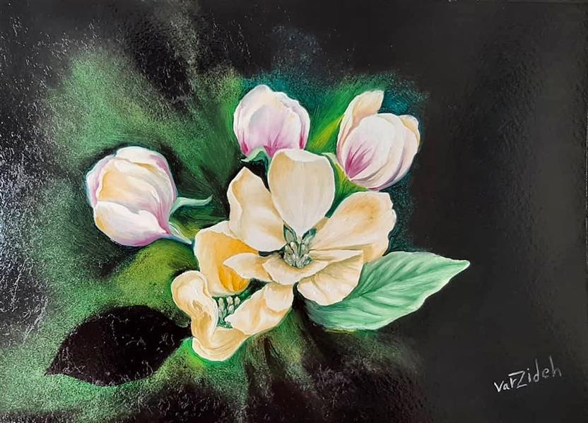 هنر نقاشی و گرافیک محفل نقاشی و گرافیک Vahid varzideh  #ابعاد ۲۰*۳۰ # بر روی مقوا # رنگ روغن # نام اثر بهار # سال تولید ۱۳۹۹