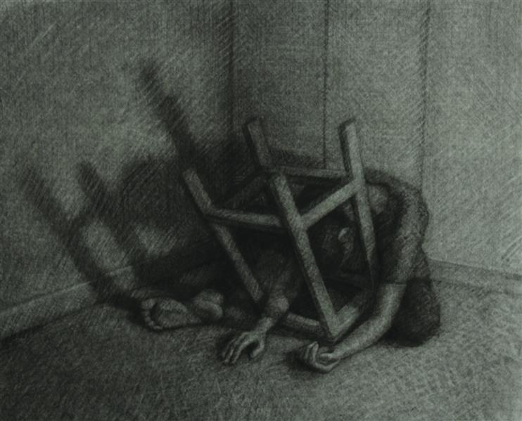 هنر نقاشی و گرافیک محفل نقاشی و گرافیک _ تکنیک: زغال روی کاغذ ۴۰×۳۵ تاریخ خلق اثر:بهار ۹۹