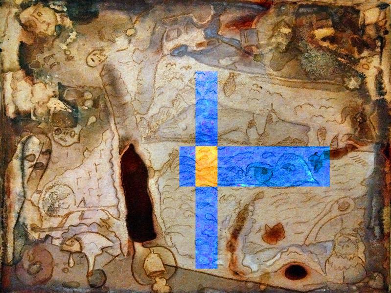 هنر نقاشی و گرافیک محفل نقاشی و گرافیک محمد محمدزاده تیتکانلو خواب، چاپ دستی با نیترات نقره روی کاغذ اثر محمد محمدزاده تیتکانلو