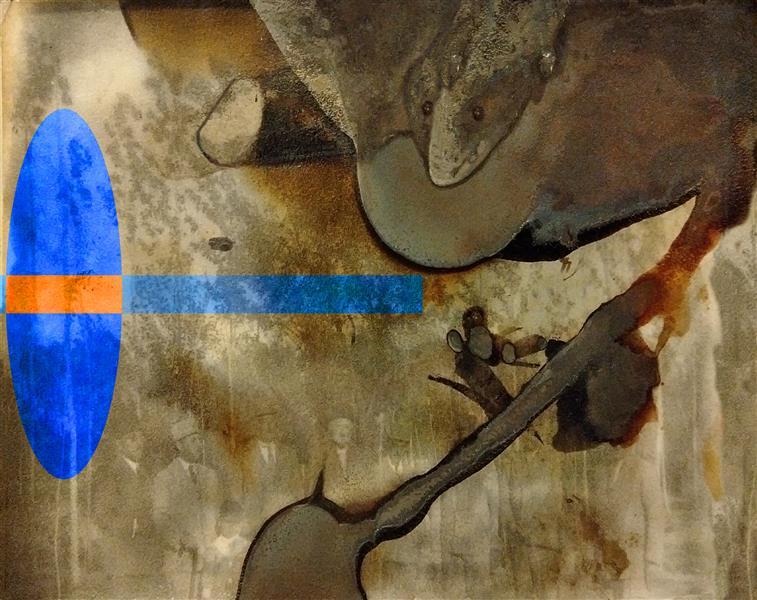 هنر نقاشی و گرافیک محفل نقاشی و گرافیک محمد محمدزاده تیتکانلو تلفیق زمان، چاپ دستی با نیترات نقره روی کاغذ اثر محمد محمدزاده تیتکانلو 1399