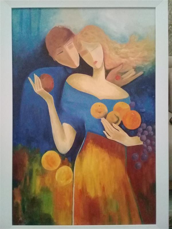 هنر نقاشی و گرافیک محفل نقاشی و گرافیک امین حسینی نام اثر: عشق سال خلق اثر: ۲۰۱۸