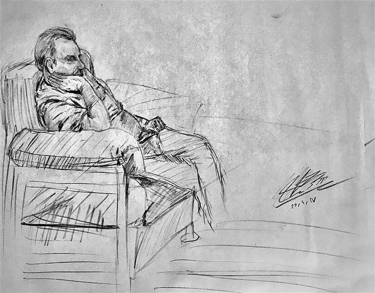 هنر نقاشی و گرافیک محفل نقاشی و گرافیک علی توسلی کنته روی کاغذ