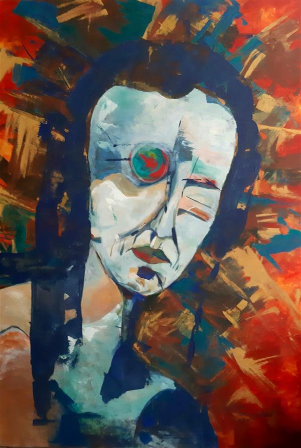 هنر نقاشی و گرافیک محفل نقاشی و گرافیک ساناز غلامی  نقاشی #مدرن #اکسپرسیونیسم #پست مدرن #نمایشگاه #آثار#exper   Painting# painte #expressionism  #postmodern#sorerealism مجموعه زندگی ساناز غلامی سال اثر ۱۳۹۸ اکرلیک روی بوم