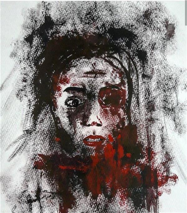 هنر نقاشی و گرافیک محفل نقاشی و گرافیک صادق رضوان پور گواش_۹۷_نگاه
