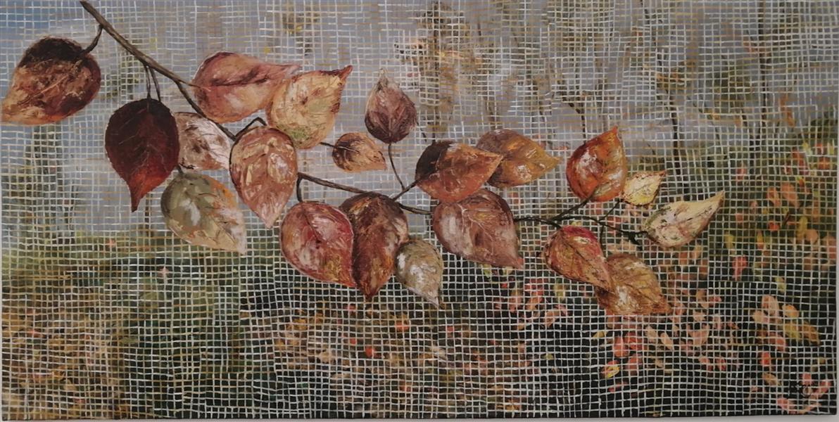 هنر نقاشی و گرافیک محفل نقاشی و گرافیک م- ح- صحرا م-ح-صحرا نام اثر: خزان، سال 99