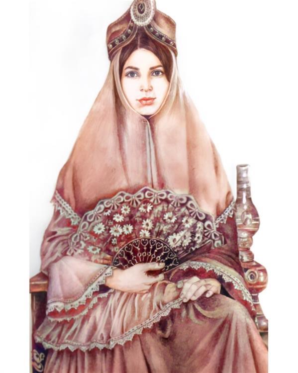 هنر نقاشی و گرافیک محفل نقاشی و گرافیک Azam-yousefi #طراحی #سایه روشن#اعظم یوسفی