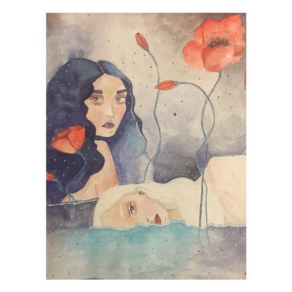 هنر نقاشی و گرافیک محفل نقاشی و گرافیک زهرا یعقوبی آبرنگ