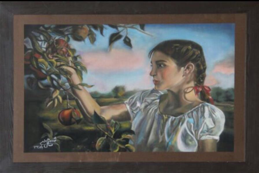 هنر نقاشی و گرافیک محفل نقاشی و گرافیک شهرزاد فقانی شیاده پاستل گچي ١٣٩٢ آرامش اثرشهرزادفقاني