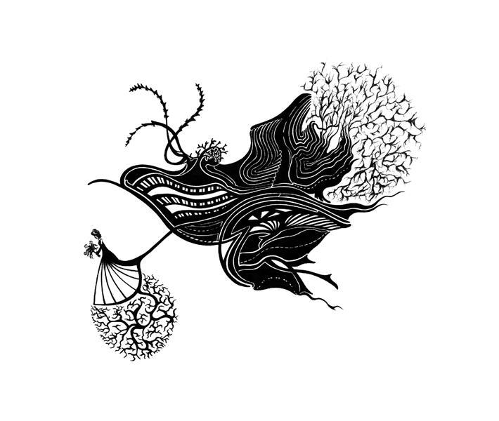 هنر نقاشی و گرافیک محفل نقاشی و گرافیک مینا نظامی Mina Nezami/ خودکار روی کاغذ/  1390