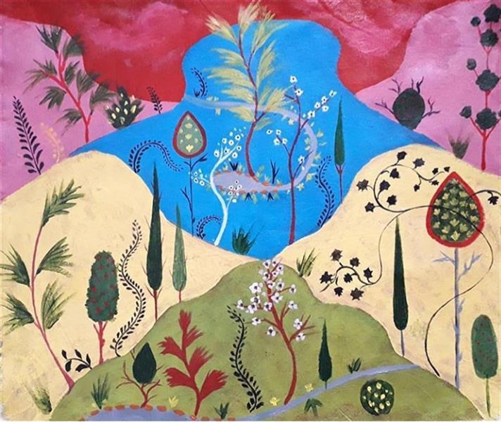 هنر نقاشی و گرافیک محفل نقاشی و گرافیک تارا نادری اکریلیک روی بوم