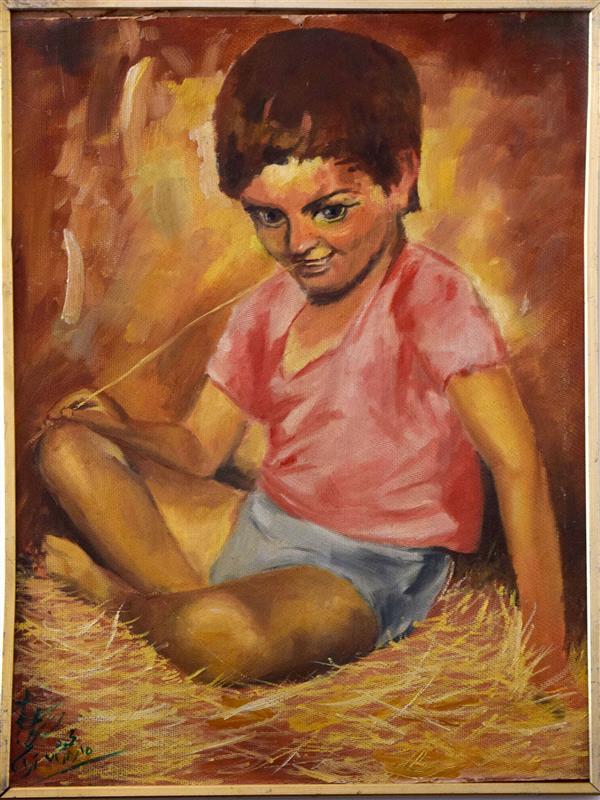 هنر نقاشی و گرافیک محفل نقاشی و گرافیک محمود شیخ حسینی #پسربازیگوش