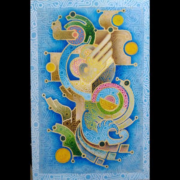 هنر نقاشی و گرافیک محفل نقاشی و گرافیک داریوش حقایقی ترکیب مواد_۱۳۹۷_بدون شرح_داریوش حقایقی