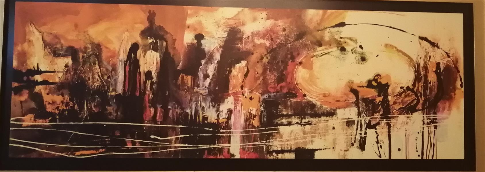 هنر نقاشی و گرافیک محفل نقاشی و گرافیک مهسا همایونفر رنگ روغن، طرح خاص و مدرن