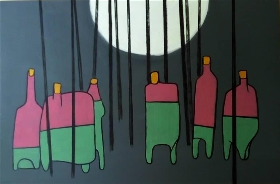 هنر نقاشی و گرافیک محفل نقاشی و گرافیک حمید رضا عینی نقاشی : نام هنرمند: حمید رضا عینی ---نام اثر : ماندن    سال خلق :1399---متریال : اکرولیک روی بوم