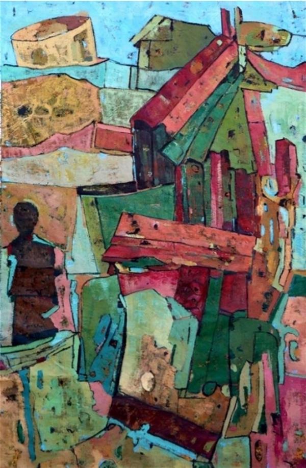 هنر نقاشی و گرافیک محفل نقاشی و گرافیک زهرا نویدی بنه کهل (صحرا) هنرمند  : زهرانویدی بنه کهل( صحرا ) متریال :ترکیب مواد عنوان : مجموعه شخصی  خلق: ۱۳۹۸