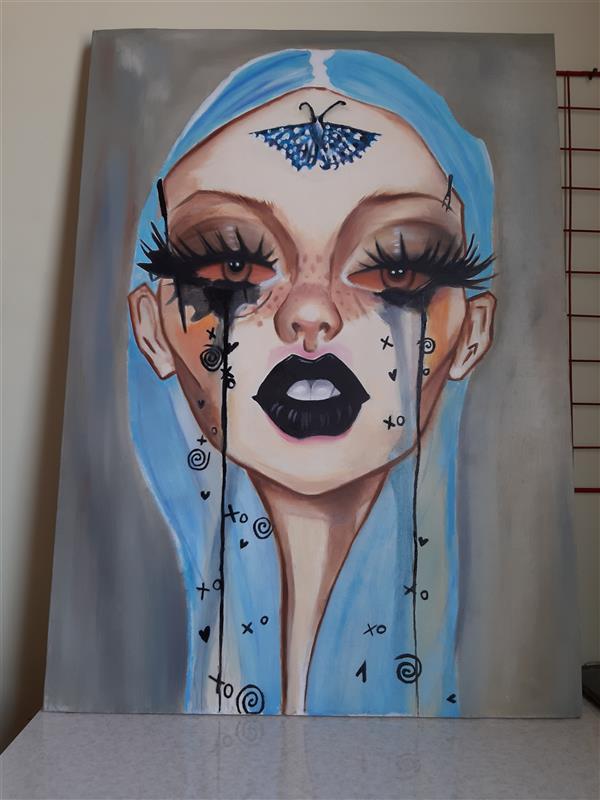 هنر نقاشی و گرافیک محفل نقاشی و گرافیک گندم نساجی  #تابلو_نقاشی #تابلو_رنگ_روغن #نقاشی #تابلو