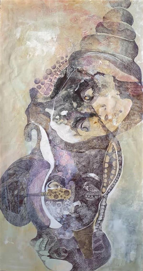 هنر نقاشی و گرافیک محفل نقاشی و گرافیک مریم کریمی 1399- اکرولیک- مریم کریمی