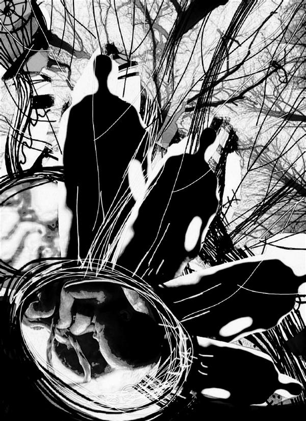 هنر نقاشی و گرافیک محفل نقاشی و گرافیک اسیه ابراهیمی ترکیب عکس