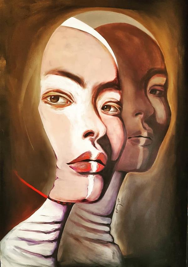 هنر نقاشی و گرافیک محفل نقاشی و گرافیک مهسا تقوی  پاستل آکریلیک رنگ روغن روی مقوا،۱۳۹۹ #مهساتقوی