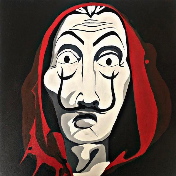 هنر نقاشی و گرافیک محفل نقاشی و گرافیک hadis abosi  #ساوادور  #نقاشی-مدرن #نقاشی-اکرلیک