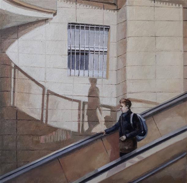 هنر نقاشی و گرافیک محفل نقاشی و گرافیک منصوره اصل مرز #رنگ_روغن_روی_بوم#سال۱۳۹۹#بدون_عنوان#منصوره_اصل مرز