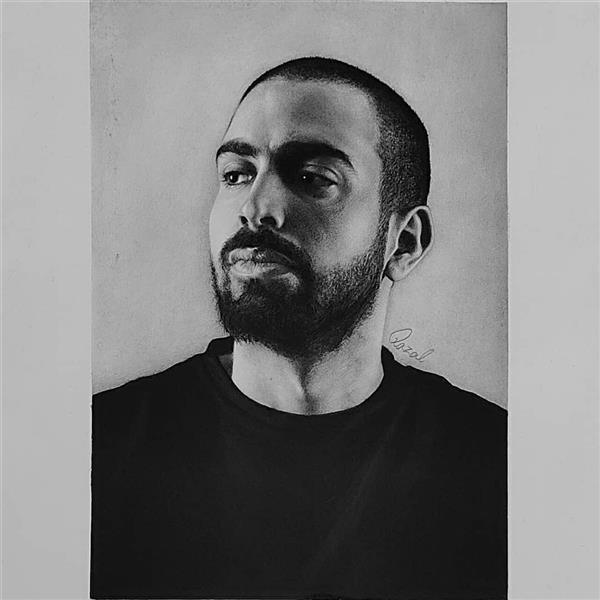 هنر نقاشی و گرافیک محفل نقاشی و گرافیک Qazal koroushavi طراحی سیاه قلم  سفارش پذیرفته میشود.