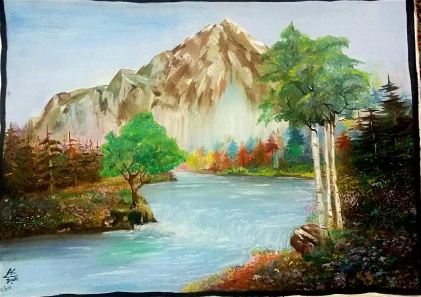 هنر نقاشی و گرافیک محفل نقاشی و گرافیک پونه رنگ روغن.سال83. خیال