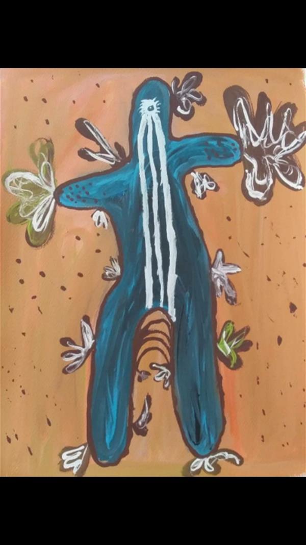 هنر نقاشی و گرافیک محفل نقاشی و گرافیک Fatemeh-Razavi #گواش #۱۳۹۹#فاطمه رضوی