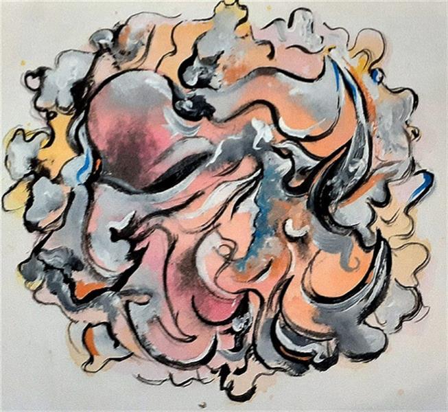 هنر نقاشی و گرافیک محفل نقاشی و گرافیک Jas اثر مفهومی گرافیکی تکنیک گواش و آبرنگ به نام Bulrush-thoughts