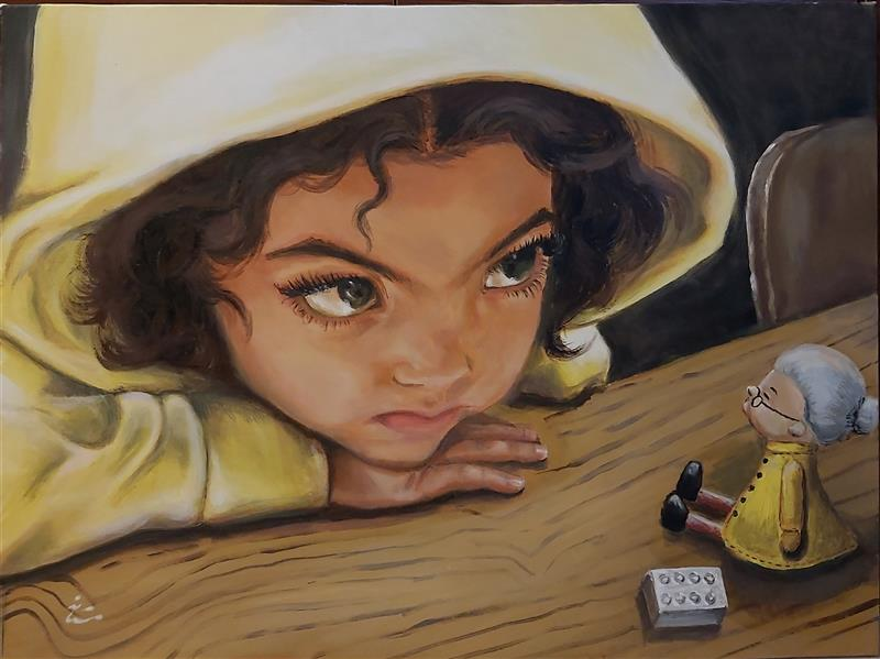 هنر نقاشی و گرافیک محفل نقاشی و گرافیک دکتر مستانه اویسی #تابلو_اورجینال#نقاشی_اکریلیک_روی_بوم دکتر مستانه اویسی