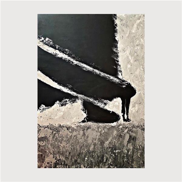 هنر نقاشی و گرافیک محفل نقاشی و گرافیک کیانا شریفی كولبر رنگ و روغن روي بوم كيانا شريفي