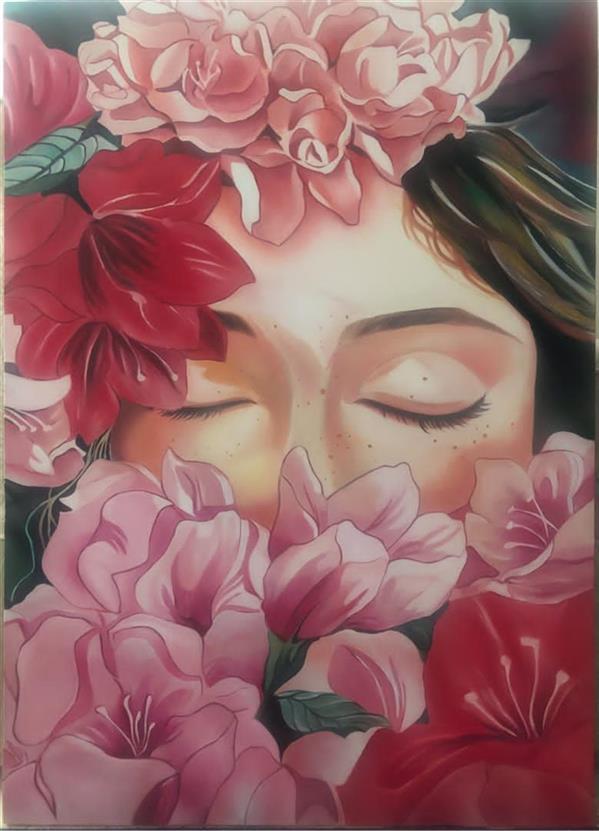 هنر نقاشی و گرافیک محفل نقاشی و گرافیک Niloufarghane  تکنیک:رنگ روغن