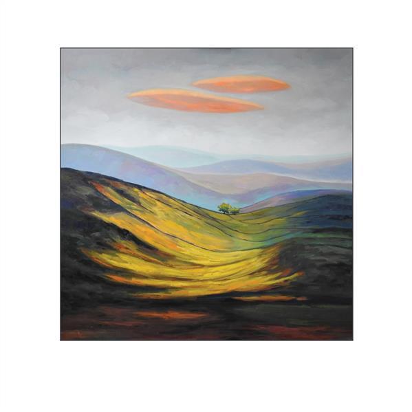 هنر نقاشی و گرافیک محفل نقاشی و گرافیک ستار کریمی متریال رنگ روغن  سال خلق ۹۹ طبیعت ستار کریمی