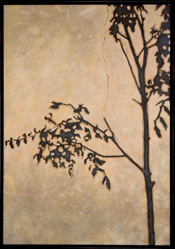 هنر نقاشی و گرافیک محفل نقاشی و گرافیک ترمه کمانی نقاشی-اکرولیک-٩٥-سایه ها-ترمه کمانی#اورجینال#طبیعت گرایی#