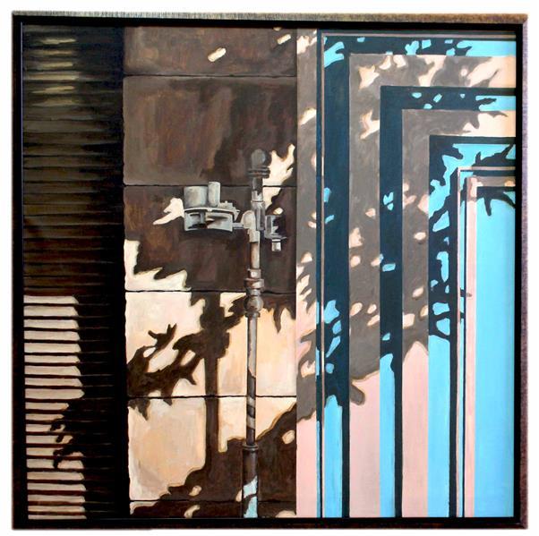 هنر نقاشی و گرافیک محفل نقاشی و گرافیک ترمه کمانی نقاشی-بوم-٩٥ -سایه ها-ترمه کمانی#اورجینال#طبیعت گرایی#