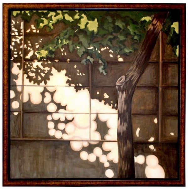 هنر نقاشی و گرافیک محفل نقاشی و گرافیک ترمه کمانی نقاشی-روی بوم-اکرولیک-95-سایه ها-ترمه کمانی#اورجینال#طبیعت گرایی
