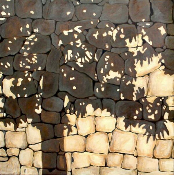 هنر نقاشی و گرافیک محفل نقاشی و گرافیک ترمه کمانی نقاشی-اکرولیک-بوم-٩٥-سایه ها-ترمه کمانی#اورجینال#طبیعت گرایی#
