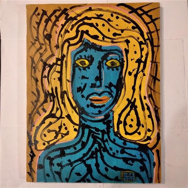 هنر نقاشی و گرافیک محفل نقاشی و گرافیک محمد محمدزاده تیتکانلو #هنر مدرن، #اکسپرسیونیسم، ۱۳۹۹ اثر #محمد_محمدزاده_تیتکانلو