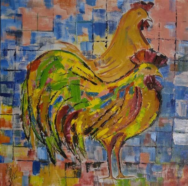هنر نقاشی و گرافیک محفل نقاشی و گرافیک farzaneh kalantari رنگ روغن روی بوم فرزانه کلانتری #art #painting