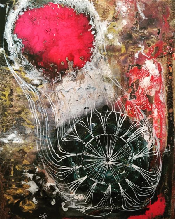 هنر نقاشی و گرافیک محفل نقاشی و گرافیک زهرا علیزاده نام هنرمند: زهرا علیزاده نام اثر: بازتاب کائنات سال خلق اثر: ۱۳۹۹ متریال: اکرولیک روی بوم