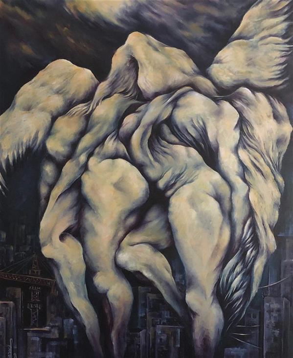 هنر نقاشی و گرافیک محفل نقاشی و گرافیک شاهد گلشنی #اروج از #شهر
