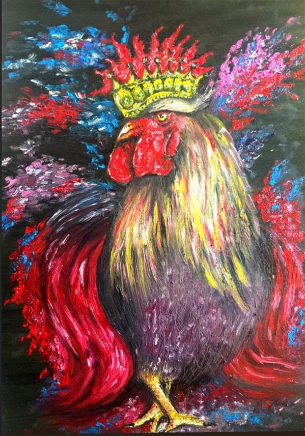 هنر نقاشی و گرافیک محفل نقاشی و گرافیک Amiri_New_artist نام اثر:طلوع خورشید  تکنیک:رنگ روغن 2021 Amiri_New_artist