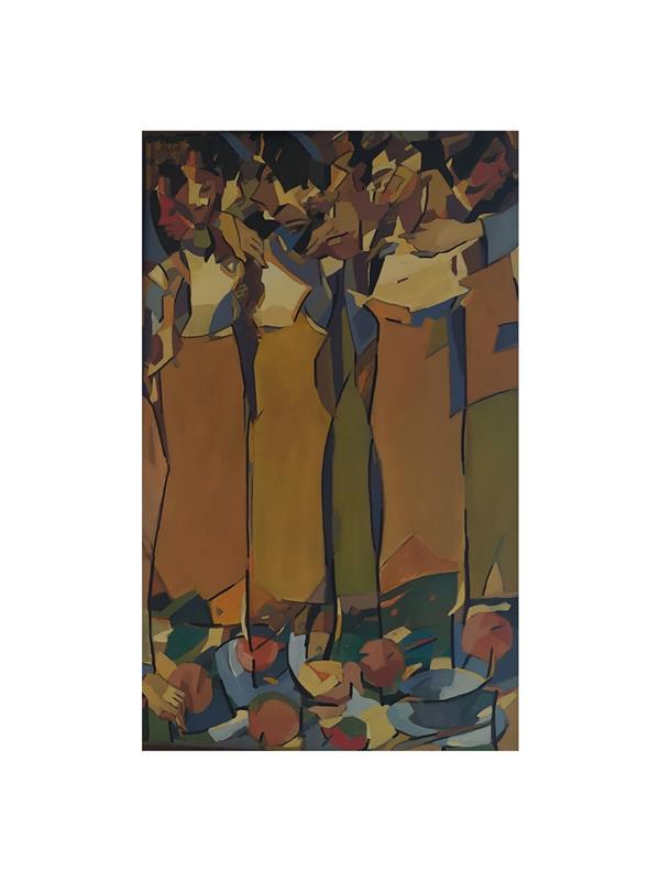 هنر نقاشی و گرافیک محفل نقاشی و گرافیک Alireza hosseinisadr نام هنرمند.: علیرضا حسینی صدر نام اثر:شیفته رنگ روغن روی بوم