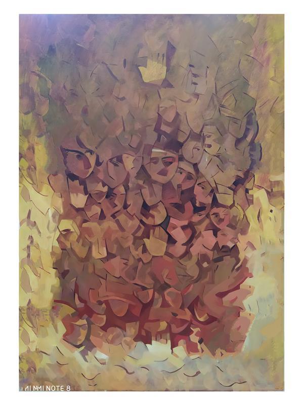 هنر نقاشی و گرافیک محفل نقاشی و گرافیک Alireza hosseinisadr نام هنرمند:علیرضا حسینی صدر۱۳۹۰ تکنیک:رنگ روغن روی بوم