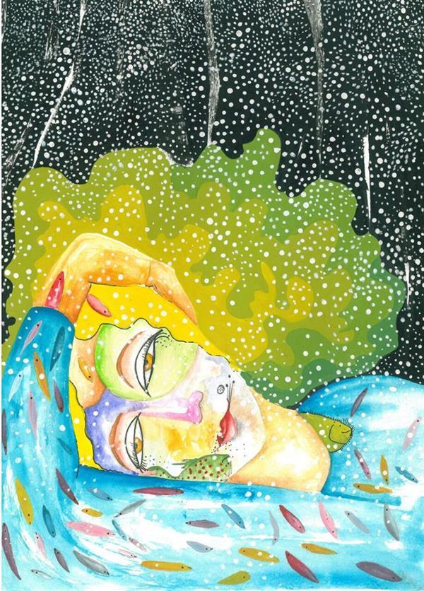 هنر نقاشی و گرافیک محفل نقاشی و گرافیک asemunam سکوت و رویا